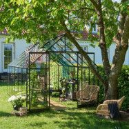 Växthus Qube + 9,9 m²