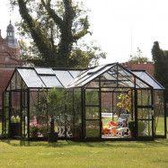 Växthus Spira Orangeri Aluminium, Ja